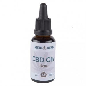 Medihemp CBD Raw Naturel 2,5 % 30ml