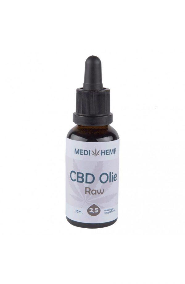 Medihemp CBD Raw Naturel 2,5 % 30ml 1