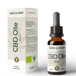 Medihemp CBD Raw Naturel 5%  30ml