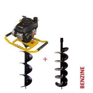 Lumag EB400PRO Benzine Grondboor D250mm | 2-persoons Grondboormachine