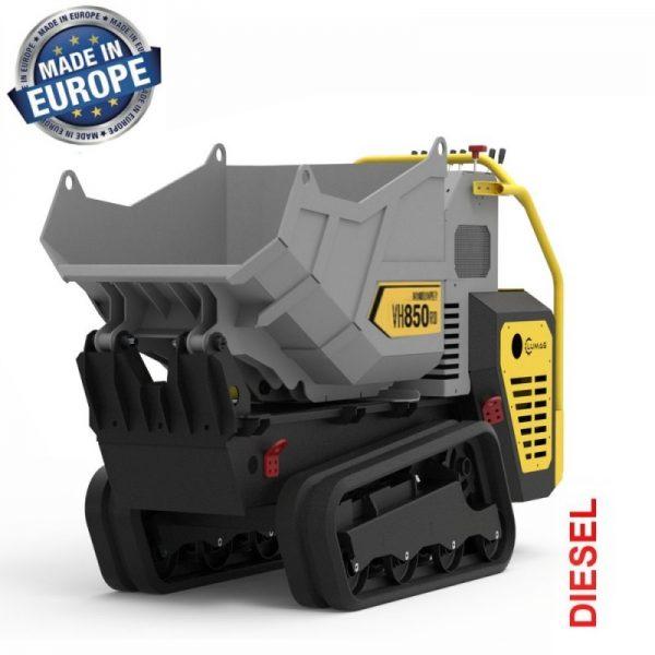 Lumag VH850D Hydraulische Rupsdumper 9,5 pk | Minidumper tot 850 kg 1