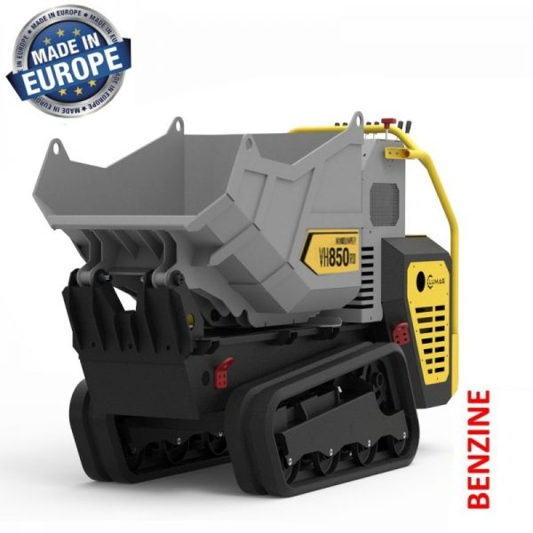 Lumag VH850GX Hydraulische Rupsdumper met 11,2 pk Honda Motor | Minidumper tot 850 kg 1