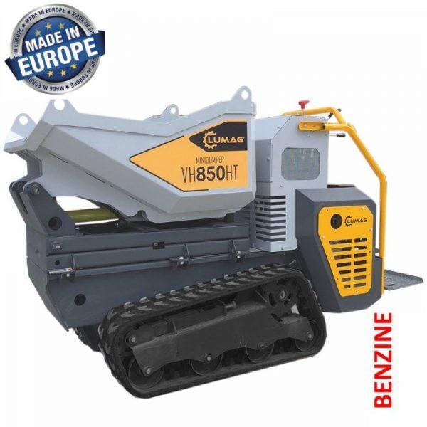 Lumag VH850HTGX Hydraulische Rupsdumper met Honda motor 11,8 pk | Minidumper tot 850 kg 1