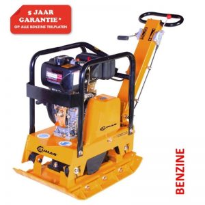 Lumag RP160HPC Trilplaat 8,1 Pk | Trilmachine Met 3050kg Slagkracht