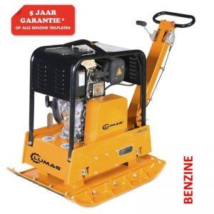 Lumag RP300HPC Trilplaat 8,1 Pk | Trilmachine Met 3800kg Slagkracht