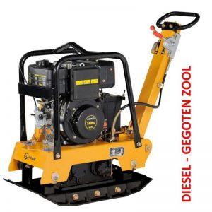 Lumag RPi31DE Trilplaat 6,6 Pk | Trilmachine Met 3350kg Slagkracht