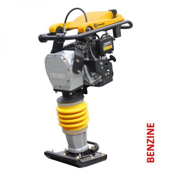 Lumag VS80S Trilstamper voor straatwerk | 4,1 pk met 1200kg slagkracht 1