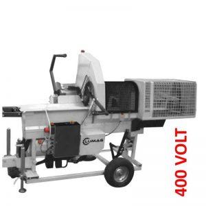 Lumag SSA300 Zaagkloofmachine 4000W 400V | Zaaghoutklover Met 7 Ton Kloofkracht