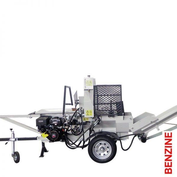 Lumag SSA400G Zaagkloofmachine 9,5 kW 400V | Zaaghoutklover met 10 ton kloofkracht 1