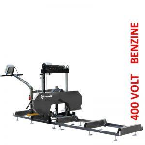 Lumag BSW66 Boomzaag 400 Volt | Bandzaag 5500 Watt