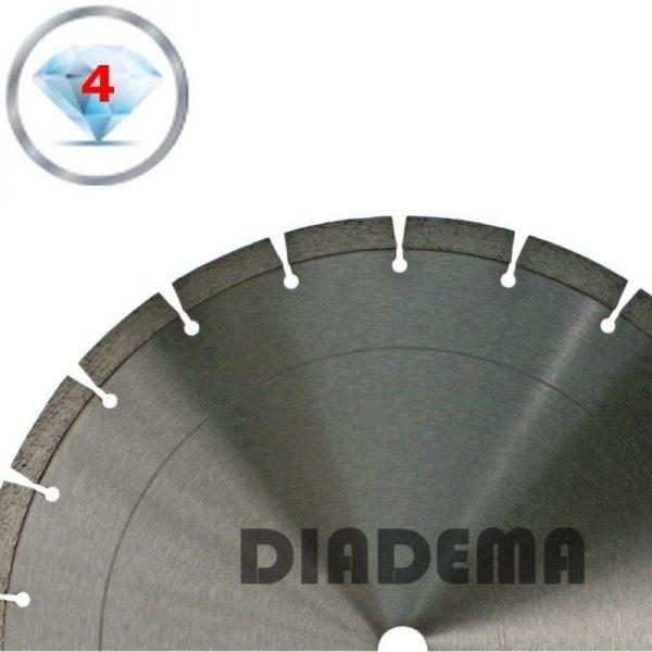 Lumag US100102 Diamantzaagblad beton en andere harde steensoorten | D 350 mm 1