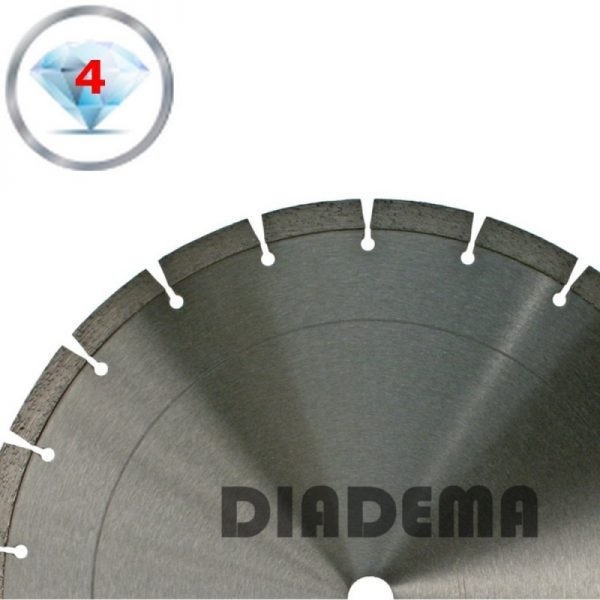 Lumag US100103 Diamantzaagblad beton en andere harde steensoorten | D 350 mm 1