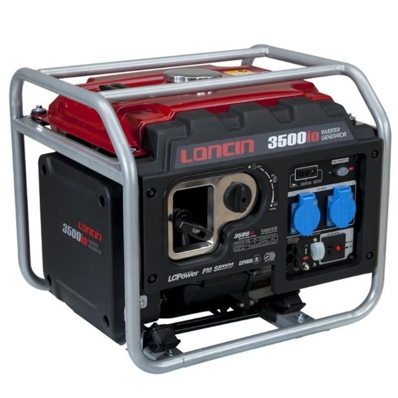 Lumag LC3500iO Benzine generator 212cc   Inverter aggregaat 4125 kVa 1