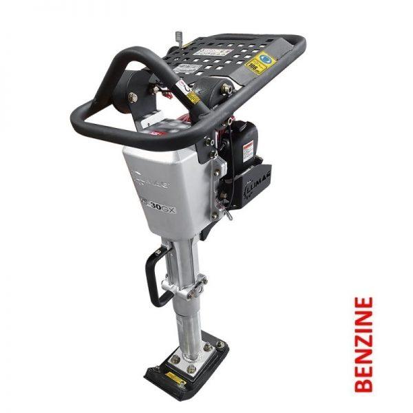 Lumag LVS-30GX Trilstamper | Trilstampmachine met 1,5 Pk Honda Motor 1