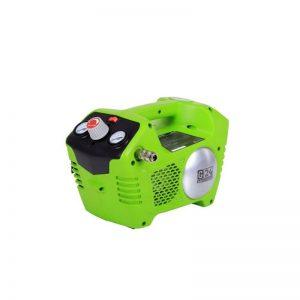 Greenworks G24AC Accu Compressor | 24 Volt Luchtcompressor Met 2 Liter Tank (zonder Accu En Lader)