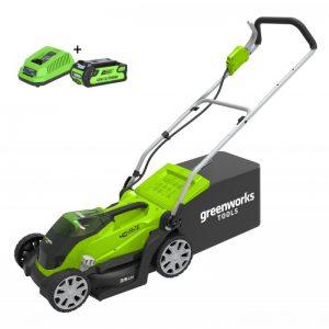 Greenworks 40V Accu Grasmaaier G40LM41K2