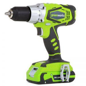 Greenworks 24V Accu Schroef-boormachine G24DD