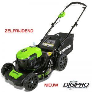 Greenworks 40V DigiPro Accu Grasmaaier GD40LM46SP