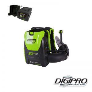 Greenworks 60V Accu Bladblazer Digipro GD60BPBK4