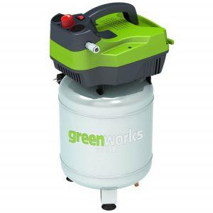 Greenworks 230V Verticale Luchtcompressor GAC24V