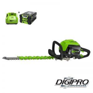 Greenworks 80V DigiPro Accu Heggenschaar GD80HTK2