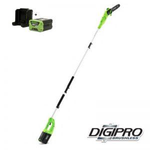 Greenworks 60V DigiPro Takkenzaag GD60PSK2