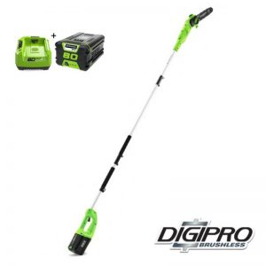 Greenworks 80V DigiPro Accu Takkenzaag GD80PSK2