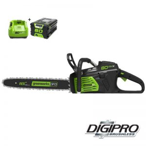 Greenworks 80V DigiPro Accu Kettingzaag GD80CS50K2