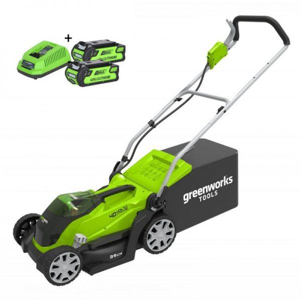 Greenworks-40-Volt-Accu-Grasmaaier-G40LM35K2X