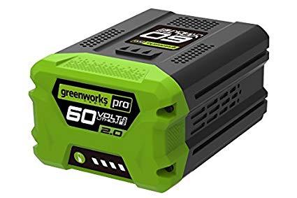 Greenworks 60 Volt Lithium Ion-accu G60B2