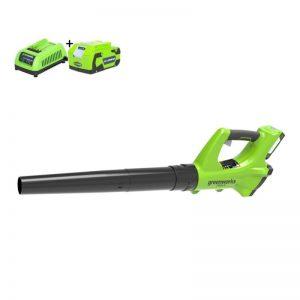 Greenworks G24ABK2 Accu Bladblazer | G-max 24 Volt | Bladblazer Op Accu 2Ah En Lader