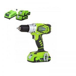Greenworks 24V Accu Schroef-klopboormachine G24CDK2X