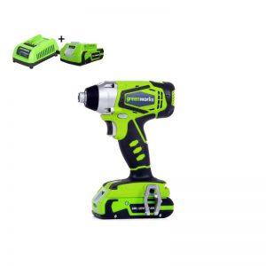 Greenworks 24V Accu Slag- Schroefmachine G24IDK2