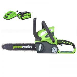 Greenworks 40V Accu Kettingzaag G40CS30K2