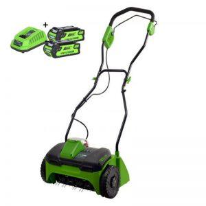 Greenworks 40V Accu Verticuteermachine G40DT30K2X