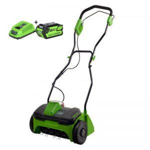 Greenworks 40V Accu Verticuteermachine G40DT30K4