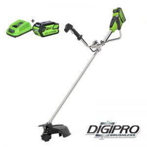 Greenworks 40V DigiPro Accu Grastrimmer En Bosmaaier GD40BCBK4