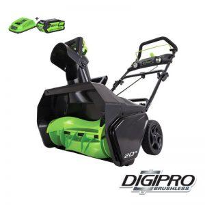 Greenworks 40V DigiPro Accu Sneeuwfrees GD40STK4