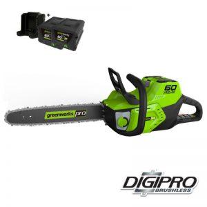 Greenworks 60V DigiPro Accu Kettingzaag GD60CS40K2X