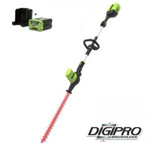 Greenworks 60V DigiPro Accu Heggenschaar Langbereik GD60PHTK2