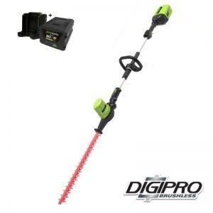 Greenworks 60V DigiPro Accu Heggenschaar Langbereik GD60PHTK4