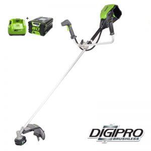 Greenworks 80V DigiPro Accu Grastrimmer En Bosmaaier GD80BCBK2