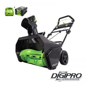 Greenworks 80V DigiPro Accu Sneeuwfrees GD80STK2