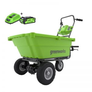 Greenworks G40GCK2 Kruiwagen | Accu Kruiwagen 40 Volt Met 2Ah Accu En Lader