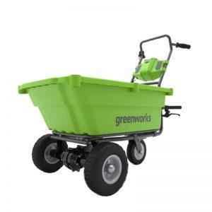 Greenworks G40GC Kruiwagen | Accu Kruiwagen 40 Volt (zonder Accu/ Lader)