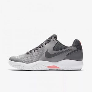 Nike Air Zoom Resistance Clay Dames Grijs