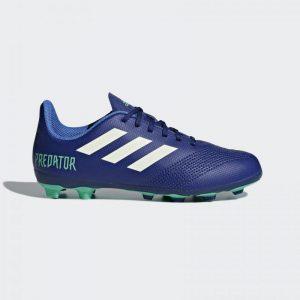 Adidas Predator 18.4 FxG Jr Donker-blauw