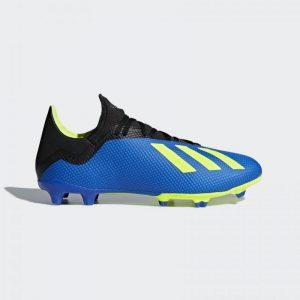 Adidas X 18.3 FG Blauw/geel