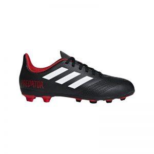 Adidas Voetbalschoen PREDATOR 18.4 FxG Jr Zwart/Wit