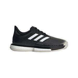 Adidas Solecourt Boost Clay/Padel Zwart